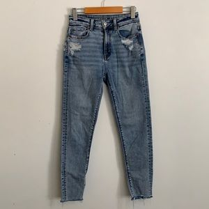 🛍50% 🛍 AMERICAN EAGLE Distress Ankle Jeans